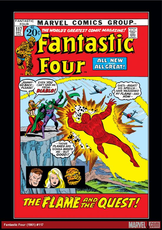 Fantastic Four (1961) #117 Cover