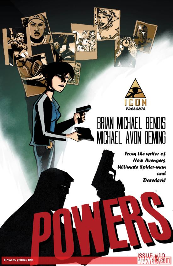 Powers (2004) #10 Cover