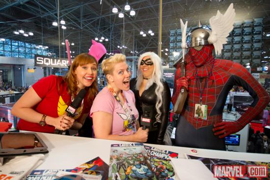 NYCC 2012: Marvel Live