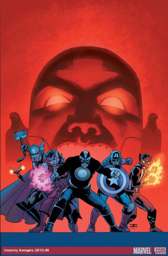 Uncanny Avengers #8 cover by John Cassaday