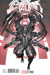 AGE OF ULTRON #4  (AGE OF ULTRON 4 ULTRON VARIANT)