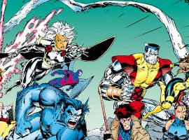 The French Phrases Fly In 90s By The Numbers With The X-Men