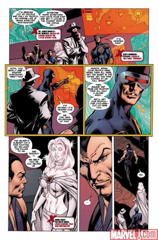 DARK REIGN: THE LIST - X-MEN preview art by Alan Davis