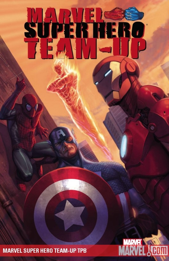 MARVEL SUPER HERO TEAM-UP TPB