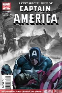 Captain America (2004) #601 (2ND PRINTING VARIANT)