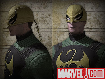 Ultimate Spiderman Iron Fist New Costume