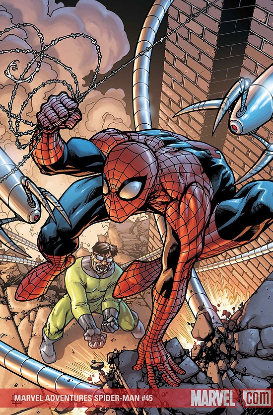 MARVEL ADVENTURES SPIDER-MAN #45