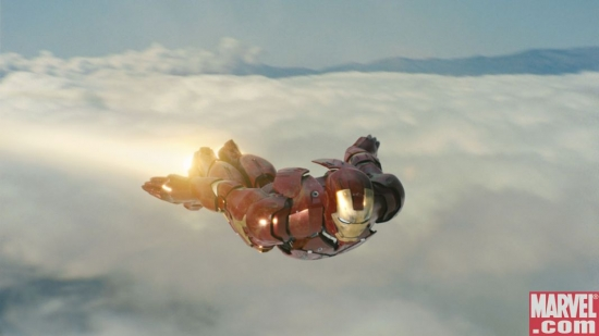 Iron Man soars