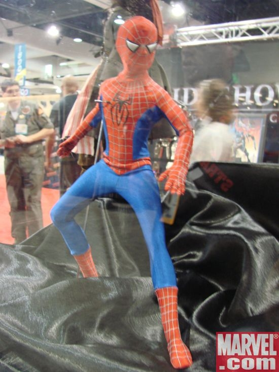 Spider-Man Dressed Tonner Character Figure