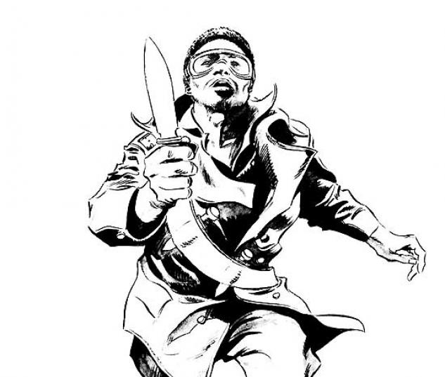 BLADE: BLACK & WHITE COVER