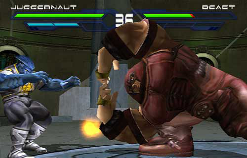 Juggernaut vs. Beast