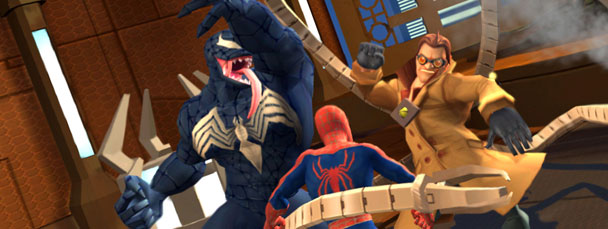 Image Featuring Doctor Octopus, Spider-Man