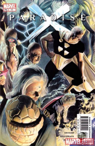 PARADISE X #11 cover by Alex Ross