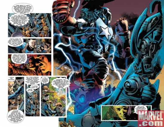 FANTASTIC FOUR #557, pages 7-8