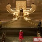Thor Movie: First Look at Odin's Throne
