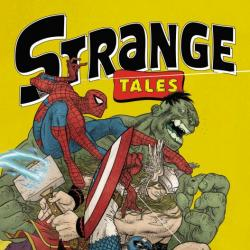 STRANGE TALES II #1 cover by Rafael Grampa