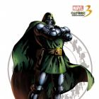 Doctor Doom character art from ''Marvel vs. Capcom 3''