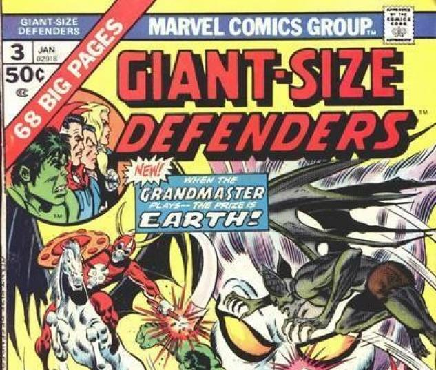 GIANT-SIZE DEFENDERS #3 cover