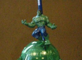 Hulk Straw in Cup display