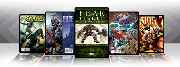 Marvel iPad/iPod App: Latest Titles 5/4/11