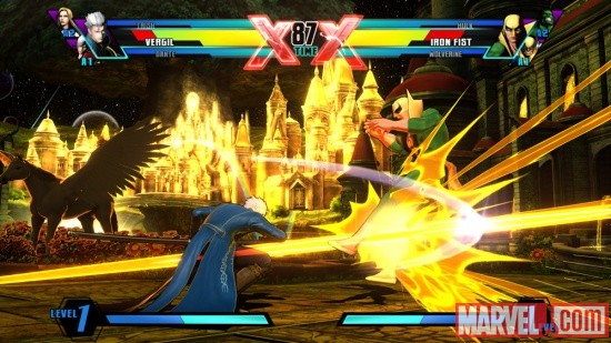 Ultimate Marvel vs. Capcom 3 Vergil Screenshot 2