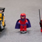 LEGO Magneto, Wolverine, Deadpool Minifigures