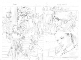 Gambit #1 (2012) preview pencils by Clay Mann