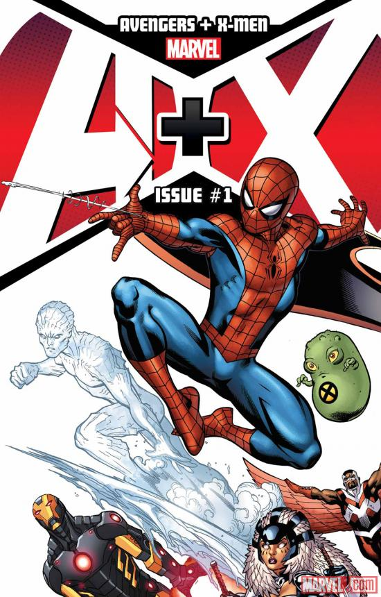 A+X #1 cover by Ed McGuinness