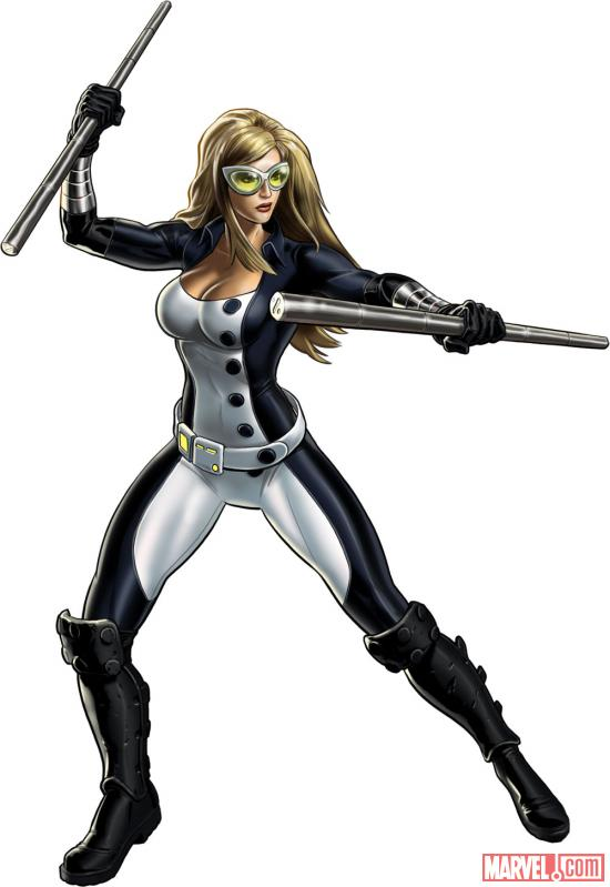 Mockingbird character model from Marvel: Avengers Alliance
