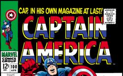 Cover #17454 - Captain America (1968) #100