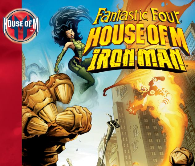 House of M: FF/Iron Man TPB