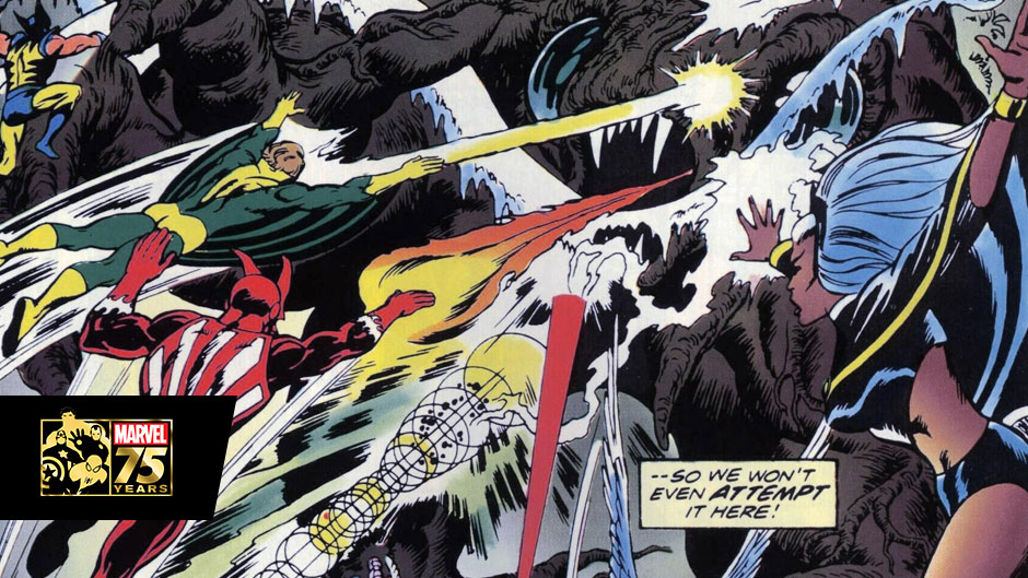 Marvel 75: The Deadly Genesis