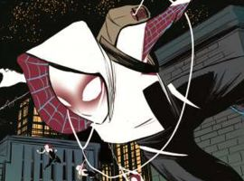 Edge of Spider-Verse #2 preview art by Robbi Rodriguez