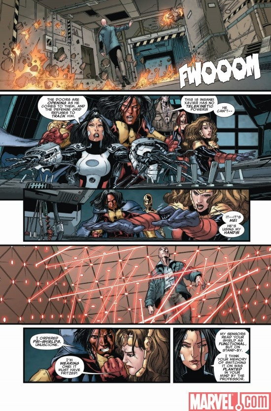 X-MEN LEGACY #225, Page 4