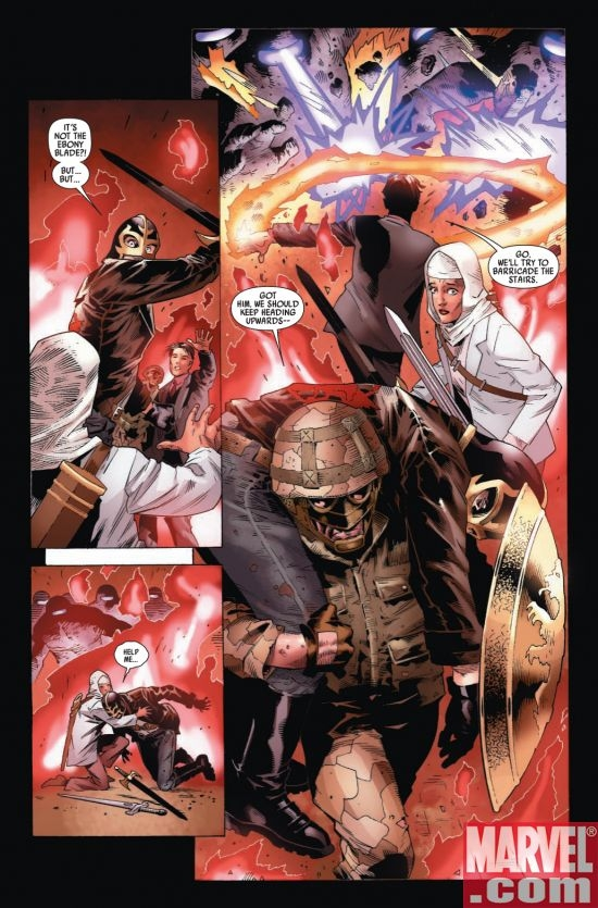CAPTAIN BRITAIN AND MI13 #8, page 2