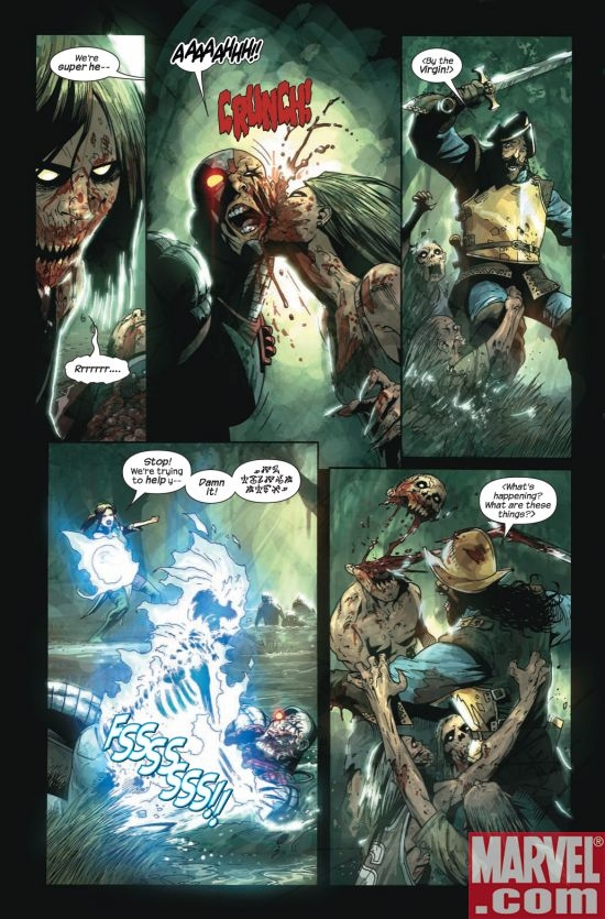 MARVEL ZOMBIES 3 #1, page 4