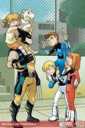Wolverine and Power Pack #1 