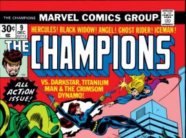 CHAMPIONS #9 COVER