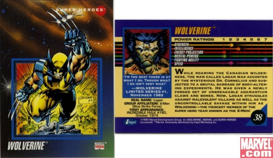 Wolverine, Card #38