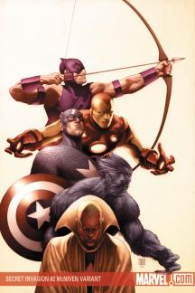 Secret Invasion (2008) #2 (Variant)