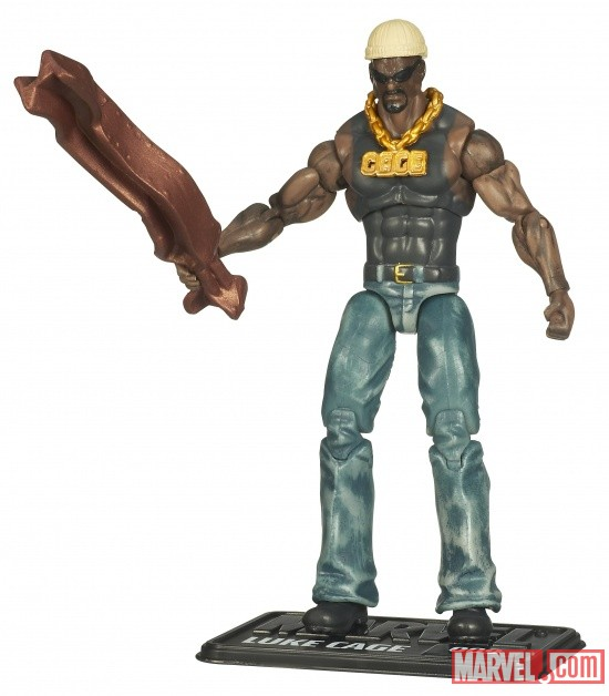 Luke Cage 3 3/4 Inch Marvel Universe Action Figure from Hasbro, Wave 7