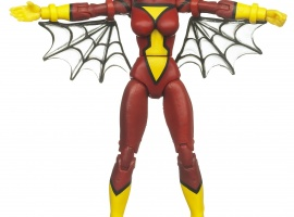 Spider-Woman 3 3/4 Inch Marvel Universe Action Figure from Hasbro, Wave 12