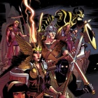 New Mutants #29 Cover Art by David Lafuente
