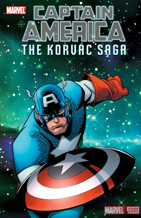 CAPTAIN AMERICA & THE KORVAC SAGA GN-TPB cover by Craig Rousseau