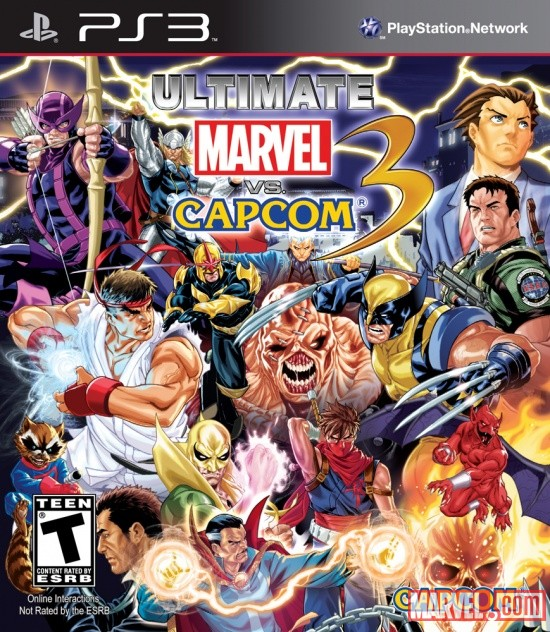 Images from ultimate marvel vs capcom 3 available now