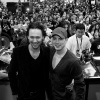 New York Comic Con 2011: Tom Hiddleston &amp; Chris Evans signing at the Marvel booth
