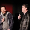 Director Marc Webb &amp; moderator Ralph Garman at the Amazing Spider-Man event in Los Angeles