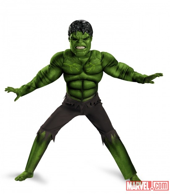 Hulk Avengers Muscle Light Up