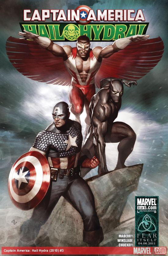 Captain America: Hail Hydra (2010) #3