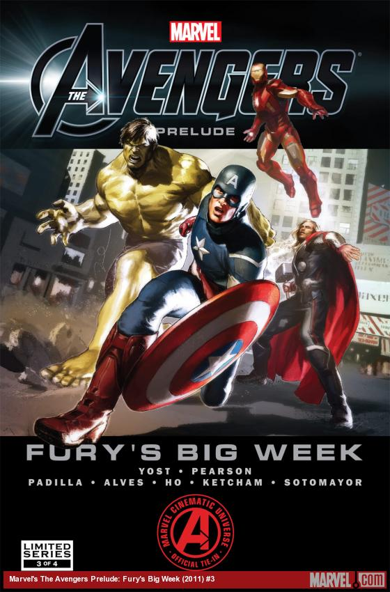 Marvel's The Avengers Prelude: Fury's Big Week (2011) #3